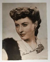 Barbara Stanwyk Signed Studio Release Autograph Portrait Print Picture A... - $9.89