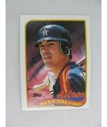 Alex Trevino Houston Astros 1989 Topps Baseball Card Number 64 - $0.98