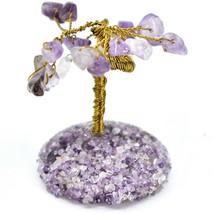Polished Amethyst Gemstone Miniature Gem Tree Mini Gemtree image 2