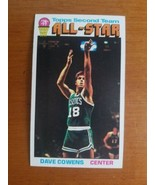 1976-77 Topps Dave Cowens #131 ... First Team All-Star .... Boston Celtics - $4.95