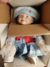 "Yolanda's Picture Perfect Babies Porcelain Doll Collection ""Amanda"" 1988 - $9.99"