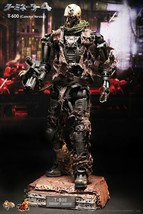 Hot Toys Movie Masterpiece Terminator 4 T-600 1/6 End skeleton concept ver. New - $1,236.50