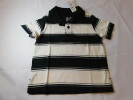 The Children's Place Baby Jungen Kurzarm Polo Hemd Größe 6-9 Monate Schwarz - $13.58