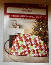 "Christmas Bike Bags You Choose Type Holiday Time 42"" x 18"" x 80"" NIB 211M - $2.22+"