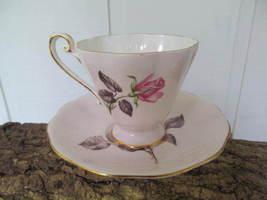 Vintage Royal Standard Pink Rose Marie Teacup & Saucer Fine English Bone... - $17.86