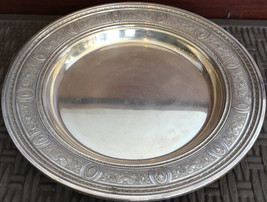 International Sterling Silver Antique Plate in Wedgwood Pattern Ornate F... - $1,250.00