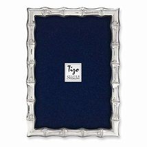 925 Sterling Silver Bamboo 4x6 Frame - $233.52