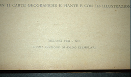 Antique Book 1934 Italy Spa Guide Part II Alpine Resorts Piemonte Photo Maps image 3
