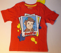 Curious George Toddler Boys T-Shirt #Selfie Sizes 3T or 4T NWT - $9.79