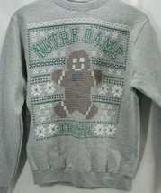 Notre Dame Irish Champion Christmas Gingerbread Man Crewneck Sweatshirt ... - $29.02