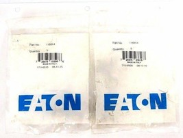 LOT OF 2 NEW EATON 1168X4 MALE CONNECTORS 1/4'' TUBE O.D. X 1/8 MALE PIPE