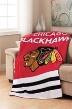 Sunbeam NHL Teams Microplush Heated Throw/Blanket - Chicago Blackhawks - ₹6,897.40 INR