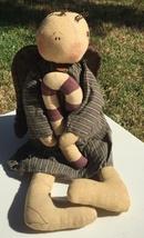 Angel Doll with Cancy Cane Cloth  - $19.95