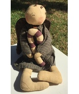 Angel Doll with Cancy Cane Cloth  - $19.95