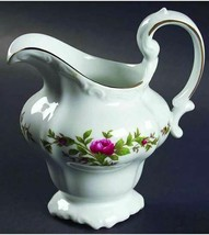 Creamer Moss Rose (Thailand Traditions) By Johann Haviland 24K Gold Height 4 1/4 - $21.03