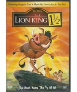 The Lion King 1 1/2 (DVD, 2004, 2-Disc Set, Limited Edition Collectible... - $11.88