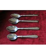 Cambridge Majesty set of 3 place / oval soup spoons plus 1 teaspoon - $24.70