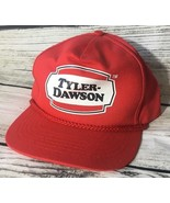 Tyler Dawson SnapBack Trucker Hat Cap Red Mens - $10.05