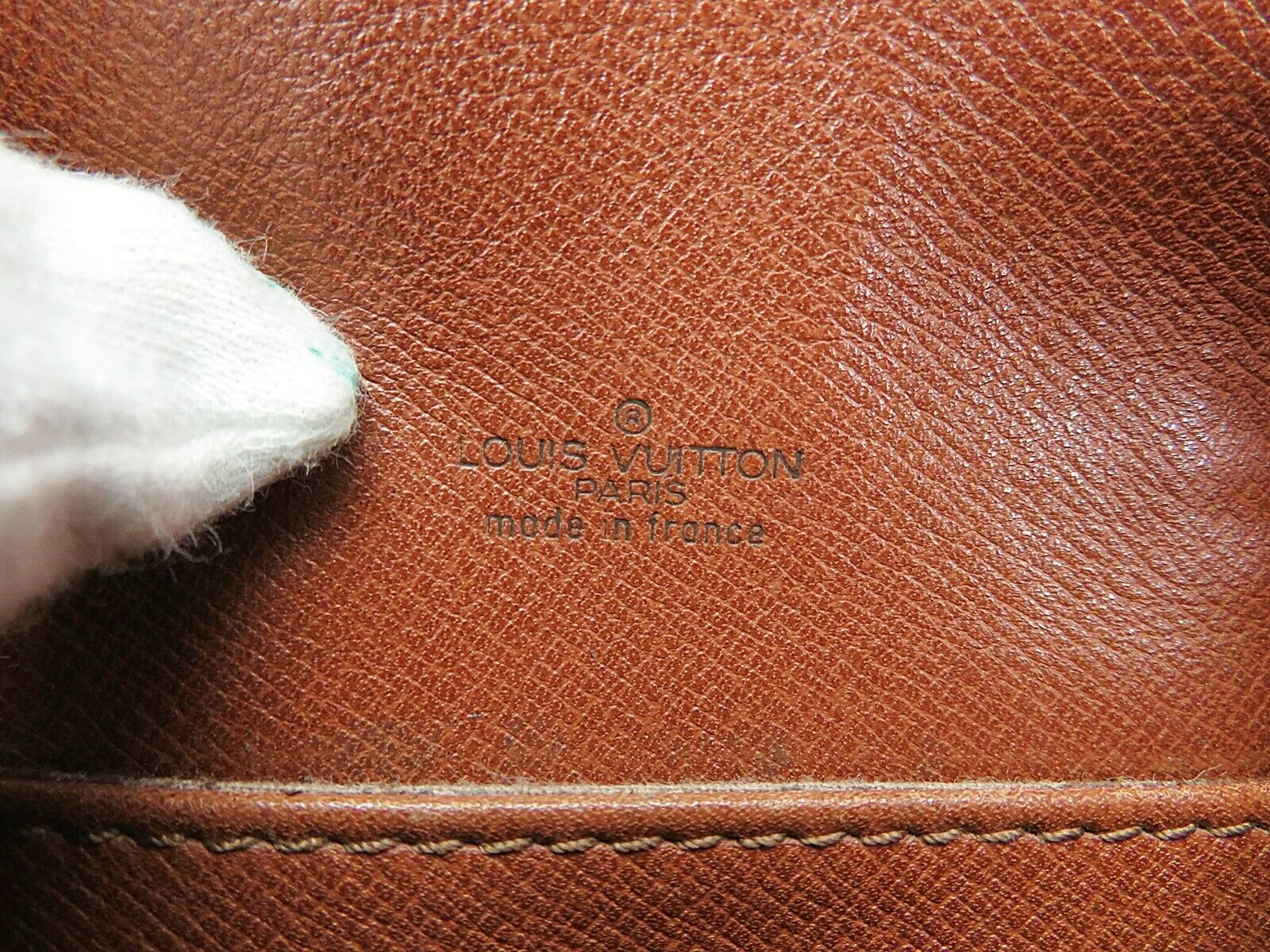 Authentic LOUIS VUITTON Saint Cloud PM Monogram Shoulder Bag #35015 image 10