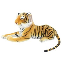 JESONN Realistic Stuffed Animals Toys Tiger Plush,Brown,18.9 Inch - $28.39