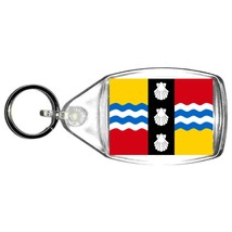 bedfordshire uk county keyring  handmade in uk from uk made parts, keyring, keyf