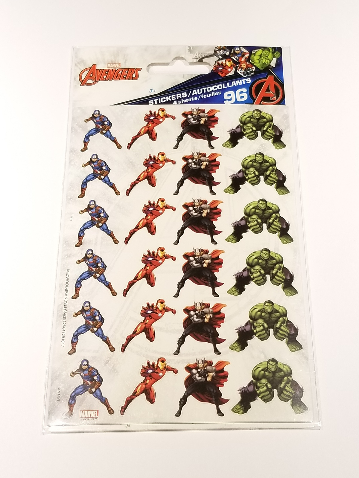 Marvel Avengers Sticker Set