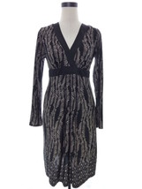 Liz Lange Maternity Black & Tan Print Dress Size Extra Small XS - $18.00