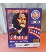 New 1000 pieces PRESIDENT OBAMA INAUGURATION JIGSAW PUZZLE - $24.73