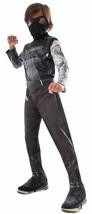Winter Soldier Captain America Civil War Fancy Dress Up Halloween Child Costume - $33.69
