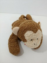 Russ Berrie Plush Home buddies Coco Monkey LARGER size beanbag terry clo... - $29.69