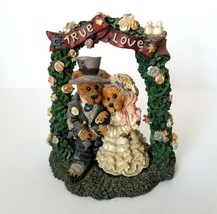 Boyds Bears Bearstone Figurine Wedding Grenville & Beatrice True Love St... - $27.66