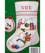 Needle Treasures Geese a Layin Goose Cross Stitch Stocking Kit 02816 E - $32.95