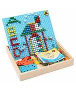 DANNI Children Wooden Toys Super Smart Jigsaw Puzzle, Small Mushroom Jig... - $39.42