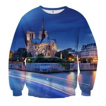 Brilliant Night Landscape Cool Sweatshirt - $36.99