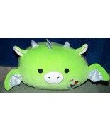 "Squishmallows  STACKABLE DESMUND the Green Dragon 12""L New - $26.50"