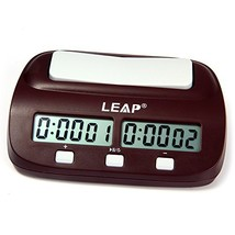 Robolife Professional LEAP PQ9907S Digital Chess Clock Count Up Down Tim... - $24.45