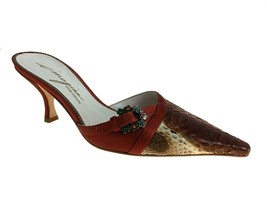 Imagine Vince Camuto Rochelle Brick Snake Women's Shoes Size 6 - $88.99