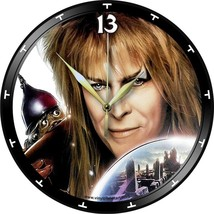 VINYL PLANET ART Record Wall Clock DAVID BOWIE Labyrinth Gift Home Uniqu... - $33.50