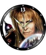 VINYL PLANET ART Record Wall Clock DAVID BOWIE Labyrinth Gift Home Uniqu... - $33.50