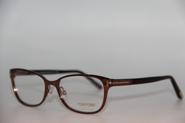 New Tom Ford Tf 5282 048 Brown Eyeglasses Authentic Rx TF5282 52-16 W/CASE - $123.12