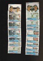 1988 Fleer #625 #632 #638 #625 Lot of 14 - $1.78