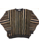 Florence Tricot Vintage Ugly Sweater Party 90s Coogi Style Hip Hop Biggi... - $49.45