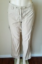 J. Crew Weathered Broken In Classic Twill Chino City Fit Summer Khaki Pa... - $20.18