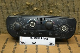 2002 Mercedes C230 AC Heat Temp Control Switch A2038300185 Bx 1 561-4g7 - $23.95