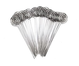 Honbay 30pcs DIY Round Shape Ring Loop Craft Wire Clip Table Card Note P... - $10.09