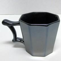 STARBUCKS COFFEE COMPANY 2013 METALLIC GRAY 14 Oz COFFEE CUP MIRROR FINISH  - $28.63