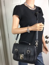 KATE SPADE Lola Avenue Lia Black Leather Cross Body Shoulder Bag Purse E... - ₨12,362.85 INR
