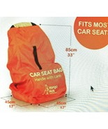 Baby Child Car Seat Travel Gate Check Bag Airplane Protective Backpack F... - $29.69