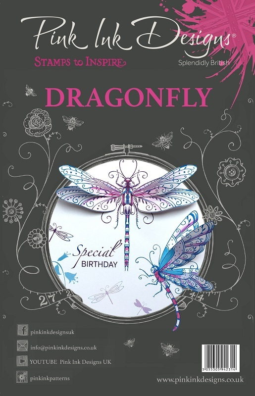 Pink ink dragonfly1