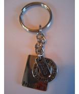 silver tone key chain friendship love laugh faith new - $15.00